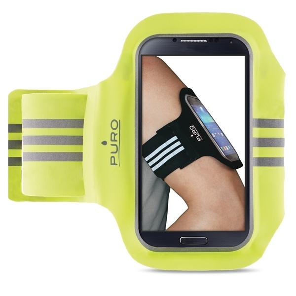 Sportovní pouzdro na paži pro telefony s displejem do 5