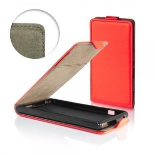 pouzdro Flip Flexi Samsung i9190 S4 mini červené  5fad7713b4b
