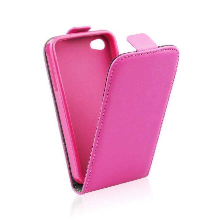 pouzdro Flip Flexi Samsung i9500 S4 růžové  5ebc9dfead6