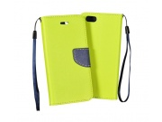 Fancy Book Samsung G900 Galaxy S5 lime/navy