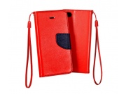 Fancy Book Samsung G900 Galaxy S5 red/navy