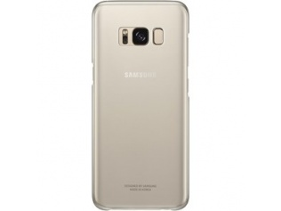 Samsung zadní kryt Clear Cover EF-QG950CFE pro Galaxy S8 Gold
