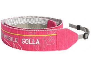 Designový popruh na zrcadlovky BLINK - růžový- camera strap