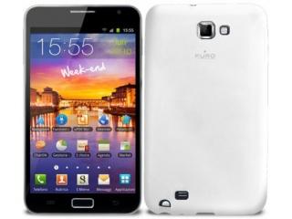 Zadní kryt na Galaxy Note, Plasma Cover - bílé