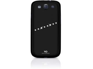 Designový zadní kryt SASH pro Galaxy S3 s ochrannou fólií, černý