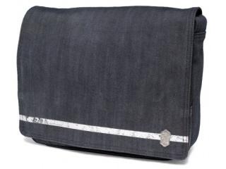 """Riflová taška na tablet/notebook do 11,6"""" - Golla ELECTROR, černá"""
