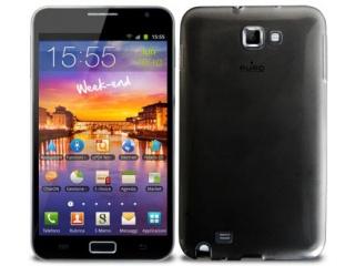 Zadní kryt na Galaxy Note, Plasma Cover - černé