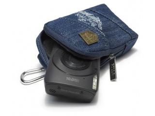Pouzdro na digitální fotoaparát AGATE - denim modrá
