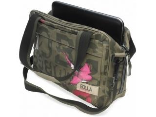 """Dámská taška na notebook / tablet do 11""""- Golla CORAL, army zelená"""