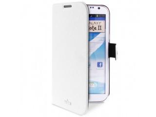 Pouzdro Booklet Slim na Galaxy Note 2 - bílé