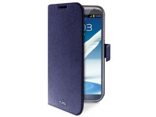 Pouzdro Booklet Slim na Galaxy Note 2 - modré