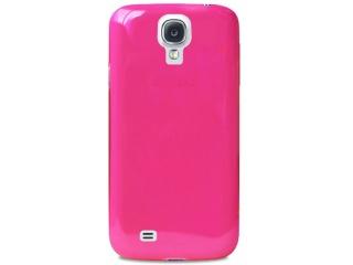 Zadní kryt na Galaxy S4, PURO Crystal Cover - růžový