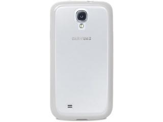Zadní kryt na Galaxy S4, PURO Clear cover - bílý