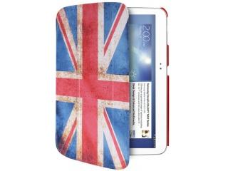 "Stojánkové pouzdro s magnetem ""ZETA SLIM"" pro SAMSUNG GALAXY TAB 3 10.1"", vlajka UK"