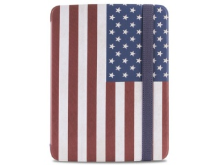 "Stojánkové pouzdro s magnetem ""ZETA SLIM"" pro SAMSUNG GALAXY TAB 3 10.1"", vlajka USA"