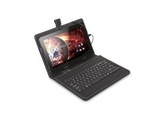 """Pouzdro s klávesnicí pro tablet 7"""", konektor USB, černé"""