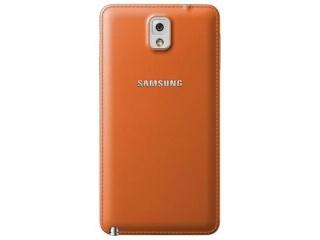 Zadní kryt ET-BN900SY pro Galaxy Note 3 (N9005), oranžová