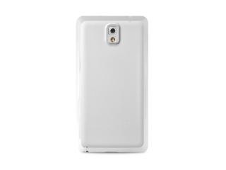 Zadní kryt na Galaxy NOTE 2, PURO Clear cover - bílý