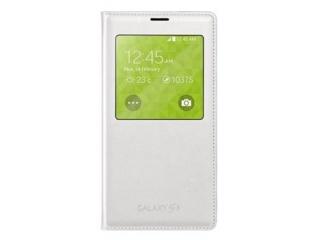 Originální pouzdro Book s okénkem na Samsung Galaxy S5 (SM-G900) , bílé
