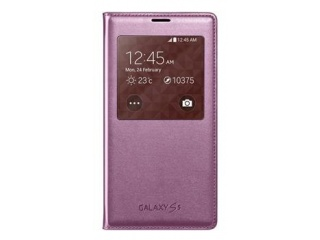 Originální pouzdro Book s okénkem na Samsung Galaxy S5 (SM-G900) , růžové