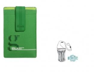 Stylové pouzdro na iPhone + DÁREK vodotěsné pouzdro, zelené G
