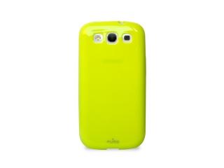 Zadní kryt pro Samsung Galaxy S3 - Plasma, neon žlutý