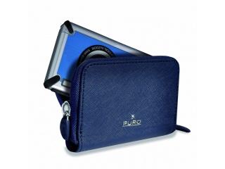 Pouzdro na digitální fotoaparát PRECIOZA - horizontální, modré