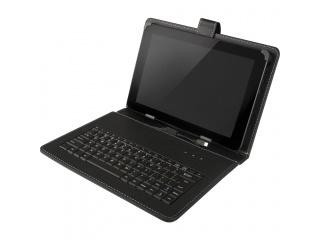 """Pouzdro s klávesnicí pro tablet 7"""", konektor micro USB, černé"""