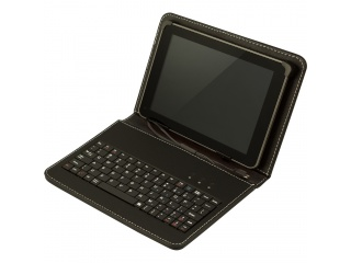 """Pouzdro s klávesnicí pro tablet 8"""", konektor micro USB, černé"""