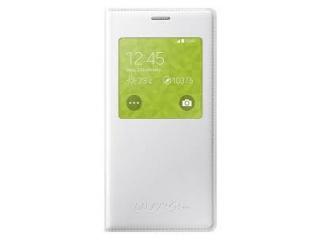 Flipové pouzdro S-view pro Samsung Galaxy S5 mini, bílá