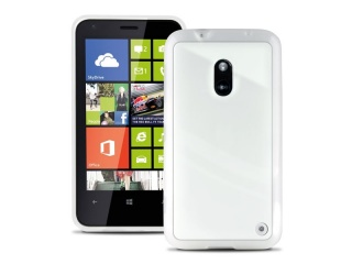 Zadní kryt na Nokia Lumia 620, PURO Clear cover - bílá