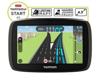TomTom START 40 Europe LIFETIME mapy