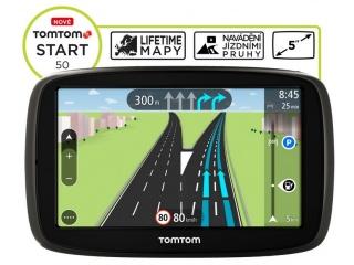 TomTom START 50 Europe LIFETIME mapy