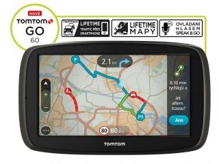 TomTom GO 60 Europe Traffic Lifetime mapy, Speak&Go