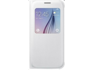 Samsung flipové pouzdro S View EF-CG920P pro Samsung Galaxy S6 (SM-G920F), bílá