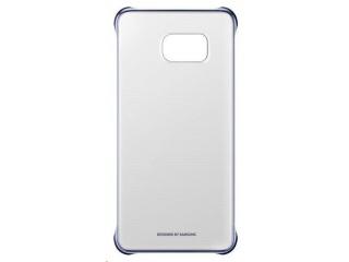 Samsung kryt Clear Cover EF-QG928C pro Galaxy S6 edge+ (SM-G928F), modrá/černá