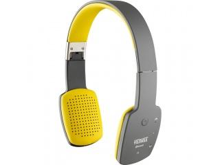 Bezdrátová Bluetooth sluchátka žlutá