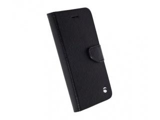 Krusell flipové polohovací pouzdro s klipem pro Samsung Galaxy S7 edge, černá