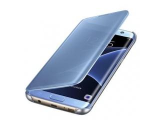 Samsung flipové pouzdro Clear View pro Galaxy S7 Edge Blue