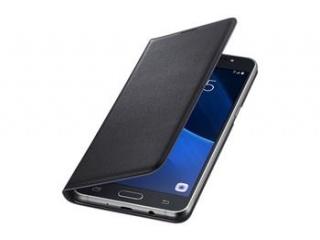 Samsung flipové pouzdro s kapsou pro Galaxy J5 2016 Black